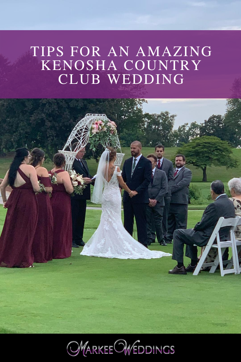 Tips for an Amazing Kenosha Country Club Wedding