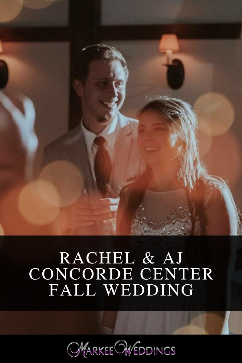 Rachel & AJ Concorde Center Fall Wedding
