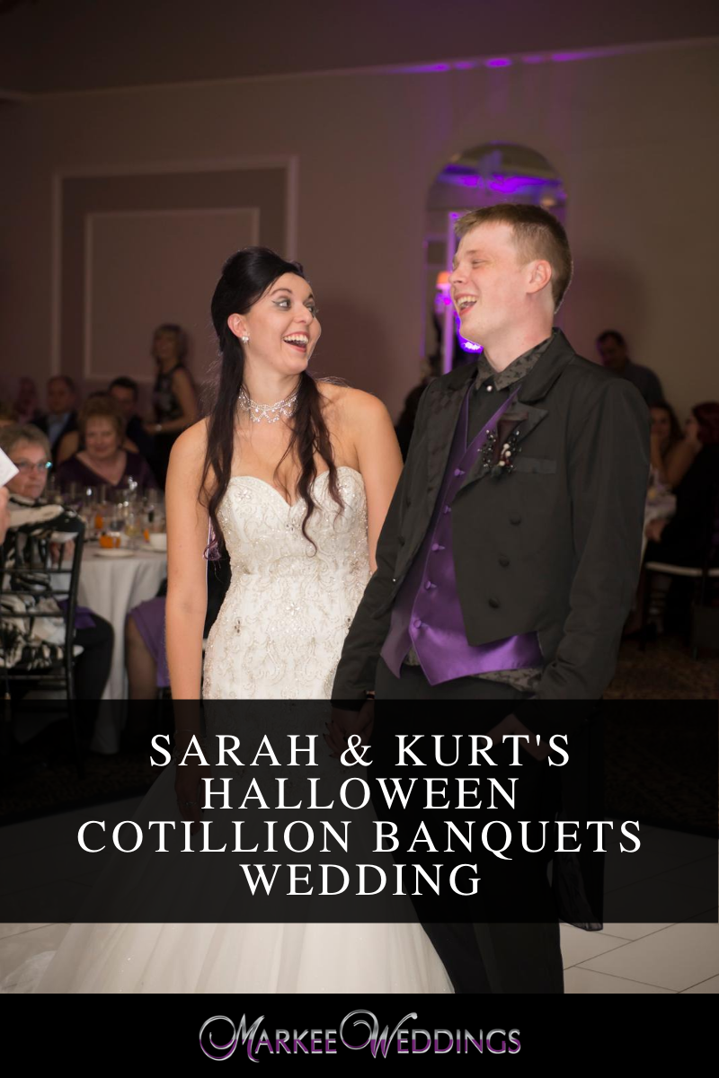 Sarah & Kurts Halloween Cotillion Banquets Wedding
